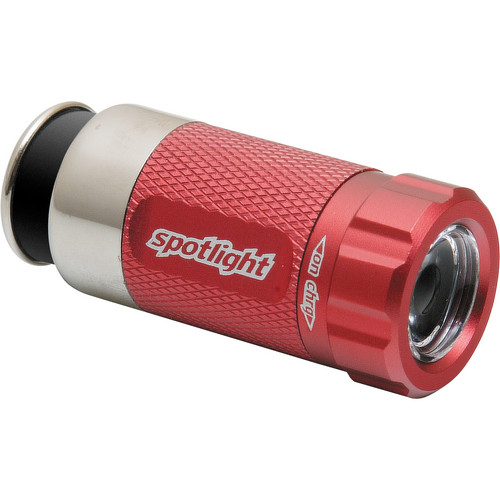 SpotLight Turbo Rechargeable LED Light (Racecar Red)