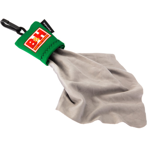 Spudz Microfiber Cleaning Cloth with B&H Logo
