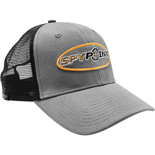 Spypoint Mesh Cap (One Size, Gray/Black)