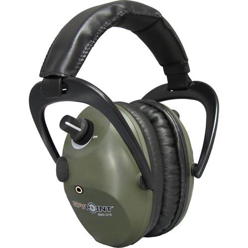 Spypoint EEM2-24 Electronic Ear Muffs (Green)