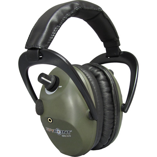 Spypoint EEM2-24 Electronic Ear Muffs (Green)