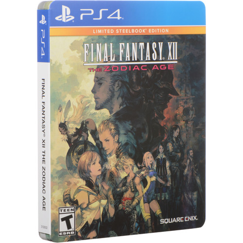 SQUARE ENIX Final Fantasy XII: The Zodiac Age (Limited Steelbook Edition, PS4)