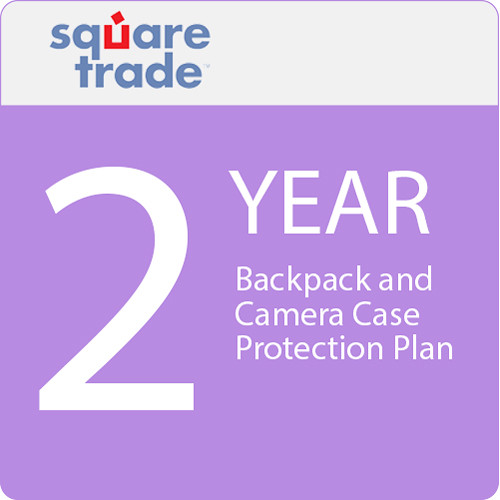 SquareTrade 2 Year Backpack And Camera Case Protection Plan 100-124.99
