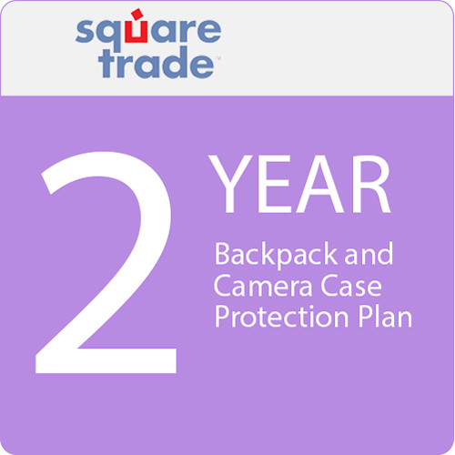 SquareTrade 2 Year Backpack And Camera Case Protection Plan 125-149.99