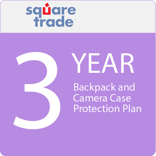 SquareTrade 3 Year Backpack And Camera Case Protection Plan 800-899.99