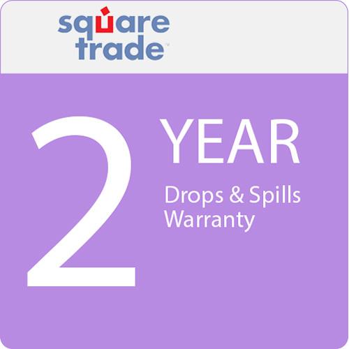 SquareTrade 2 Year Drops & Spills Warranty for Tablets Valued $2000-2499.99