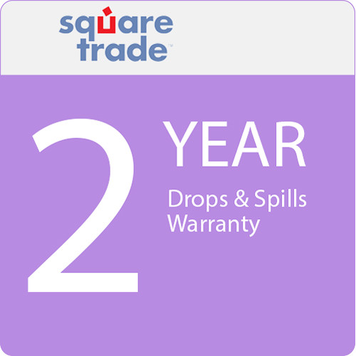 SquareTrade 2 Year Drops & Spills Warranty for Tablets Valued $2500-2999.99