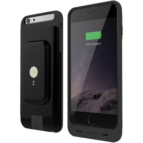 STACKED Stack Pack for iPhone 6 Plus/6s Plus (Black)