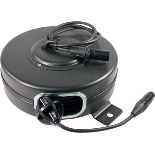 Stage Ninja DMX-50-S Retractable DMX Cable Reel (40')