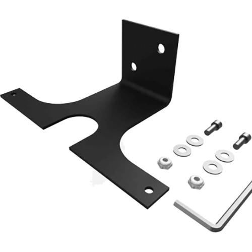 """Stage Ninja Steel Vertical Mounting Bracket for 6"""" Retractable Steel Cable Reels (12-Gauge, Black)"""