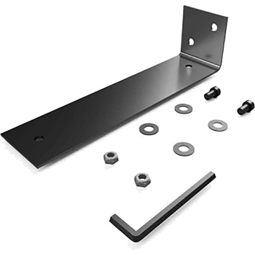 "Stage Ninja Steel Vertical Mounting Bracket for 9"" Retractable Steel Cable Reels (Black)"