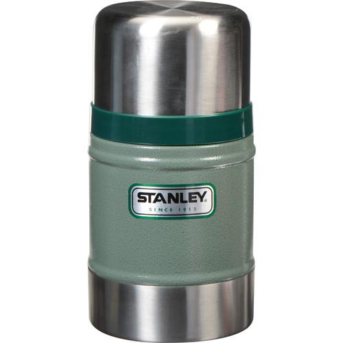 Stanley Classic Vacuum Food Jar (17 oz, Hammertone Green)