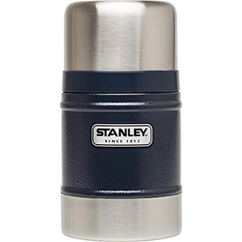 Stanley Classic Vacuum Food Jar (17 oz, Hammertone Navy)