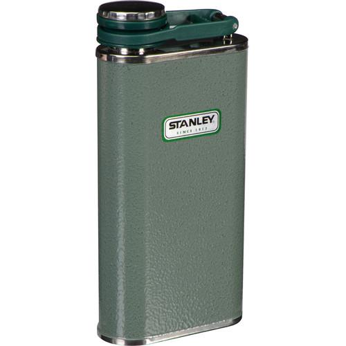 Stanley Classic Flask (8 fl oz, Hammertone Green)
