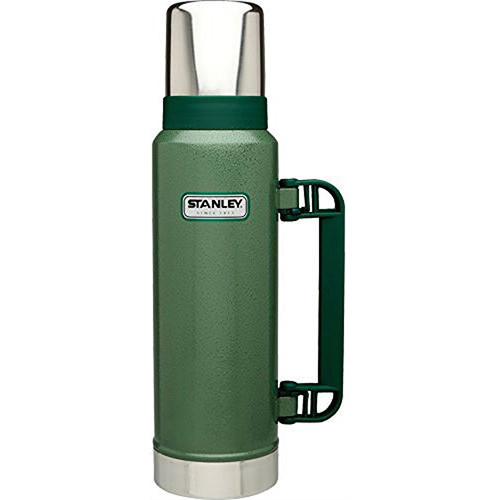 Stanley Classic Ultra Vacuum Bottle (44.8 fl oz, Hammertone Green)