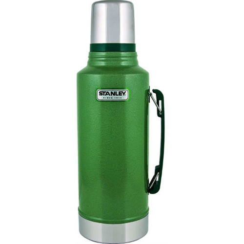 Stanley Classic 2 Qt Vacuum Bottle (Hammertone Green)