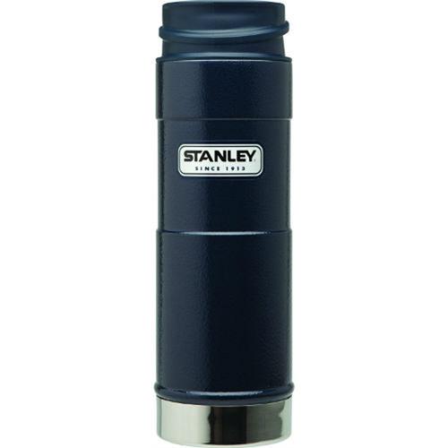Stanley Classic One Hand Vacuum Mug (20 oz, Navy)