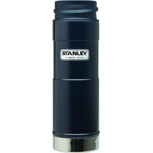 Stanley Classic One Hand Vacuum Mug (12 oz, Navy)