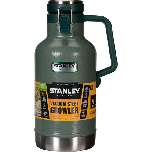 Stanley Classic Vacuum Growler (64 fl oz , Hammertone Green)