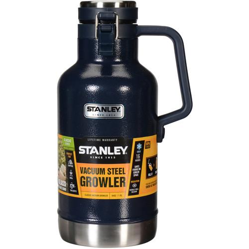 Stanley Classic Vacuum Growler (64 fl oz , Hammertone Navy)