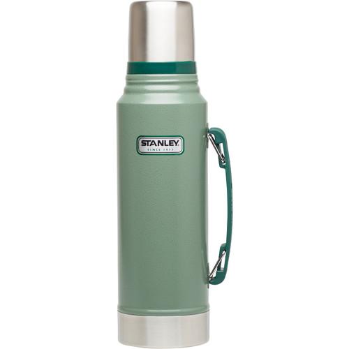 Stanley Classic 1.1-Quart Vacuum Bottle (Hammertone Green)