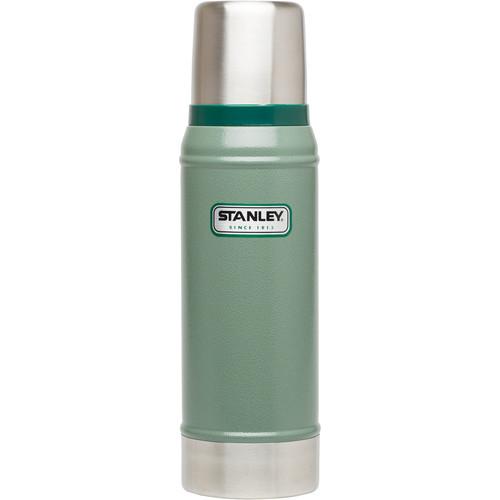 Stanley Classic 25 oz Vacuum Bottle (Hammertone Green)