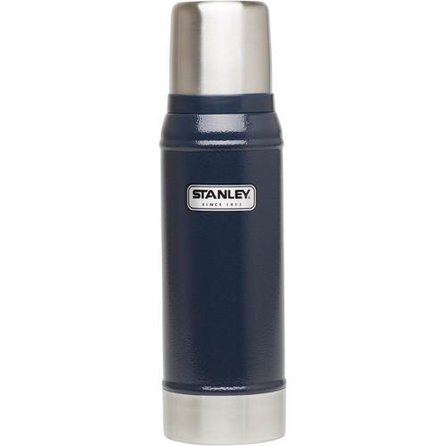 Stanley Classic 25 oz Vacuum Bottle (Hammertone Navy)