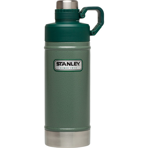 Stanley Classic Vacuum Water Bottle (18 fl oz, Hammertone Green)