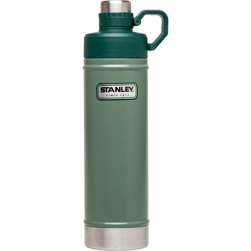 Stanley Classic Vacuum Water Bottle (25 fl oz, Hammertone Green)