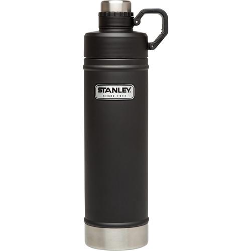 Stanley Classic Vacuum Water Bottle (25 fl oz, Matte Black)
