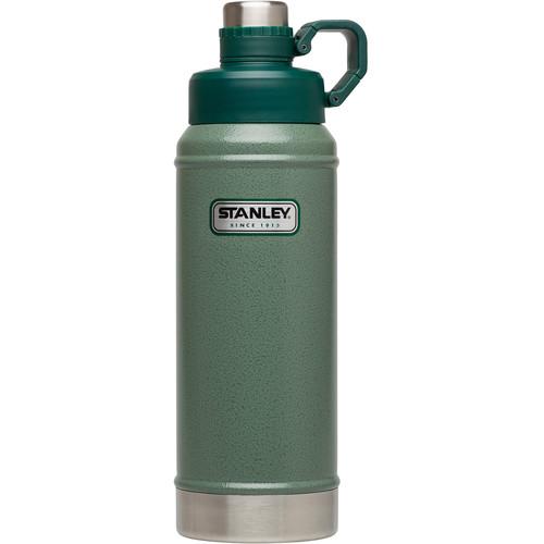 Stanley Classic Vacuum Water Bottle (36 fl oz, Hammertone Green)
