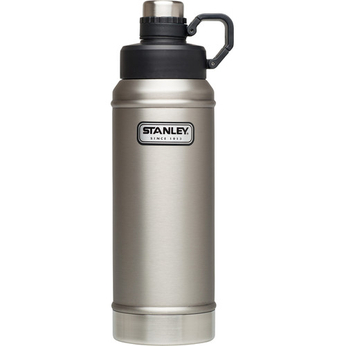 Stanley Classic Vacuum Water Bottle (36 fl oz, Stainless Steel)