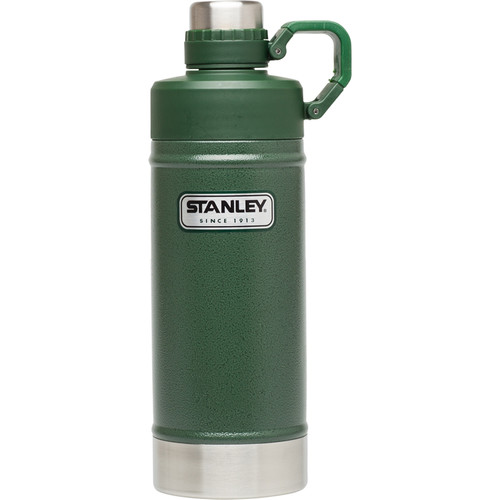 Stanley Classic Vacuum Water Bottle (18 fl oz, Hammertone Conifer)