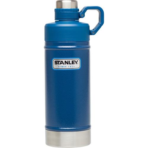 Stanley Classic Vacuum Water Bottle (18 fl oz, Hammertone Cobalt)
