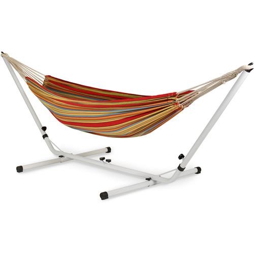 Stansport Brazilian Double Hammock/Stand Combo - Double
