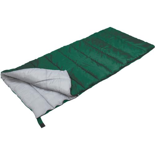 Stansport Scout Rectangular Sleeping Bag (Forest Green)