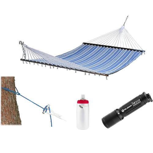 Stansport Sunset Cotton Padded Hammock Essentials Kit