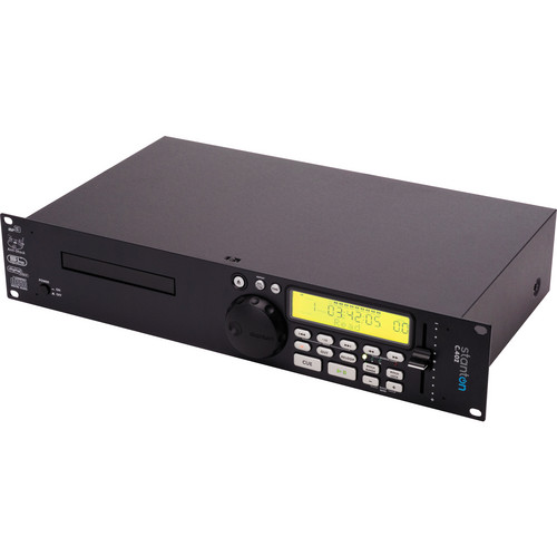 Stanton C402-NA Professional 2U Rack-Mountable CD Player with MP3