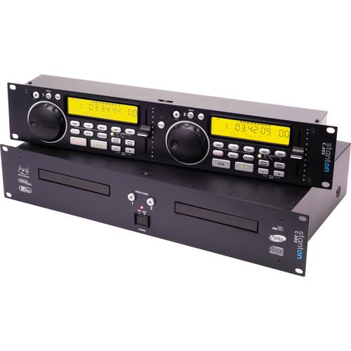 Stanton C.502 Dual 2U Rack-Mountable CD Player with MP3 Playback