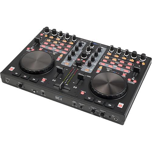 Stanton DJC.4 - Digital DJ Controller with Built-In Audio Interface