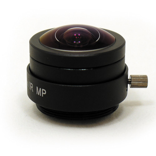 STARDOT CS-Mount 1.55mm f/2.0 IR Corrected Fixed Focal Fisheye Lens