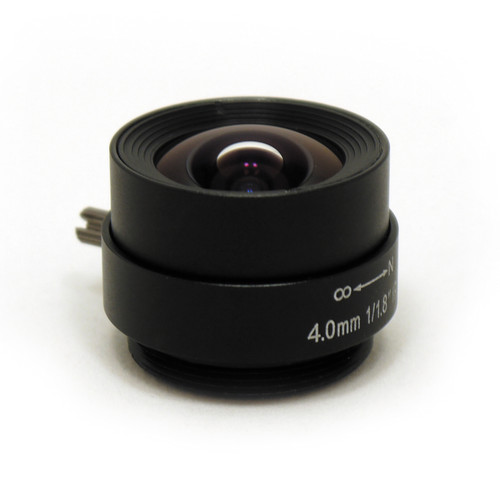 STARDOT CS-Mount 4mm f/1.8 Day/Night Fixed Focal Lens
