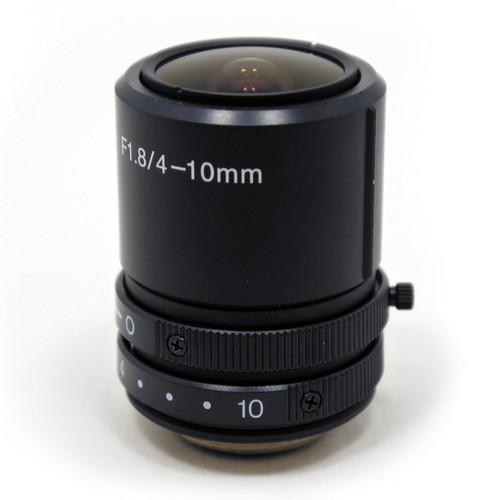 STARDOT CS-Mount 4-10mm f/1.8-Close Varifocal Lens for NetCam SC Cameras