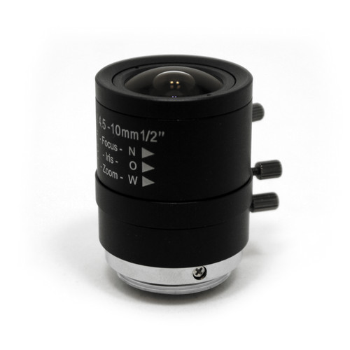STARDOT CS-Mount 4.5-10mm f/1.8 IR-Corrected Varifocal Lens