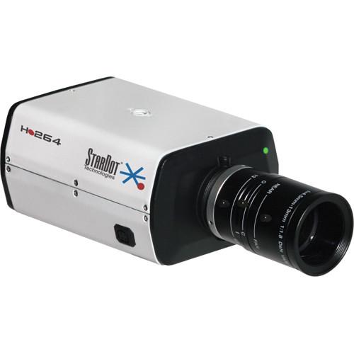 STARDOT NetCam SC SDH Series SDH500BN H.264 5MP Hybrid IP True Day/Night Box Camera with 4mm Lens