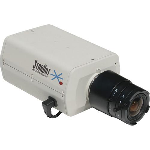 STARDOT NetCam SC Series SD130BN 1.3MP MJPEG Hybrid Color Day/Night IP Box Camera with 4mm Lens