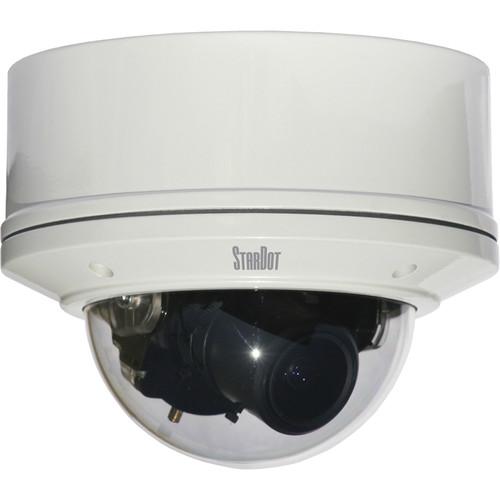 STARDOT NetCam SC Series SD130V 1.3MP MJPEG Hybrid Vandal-Resistant IP Dome Camera with 4-10mm Lens