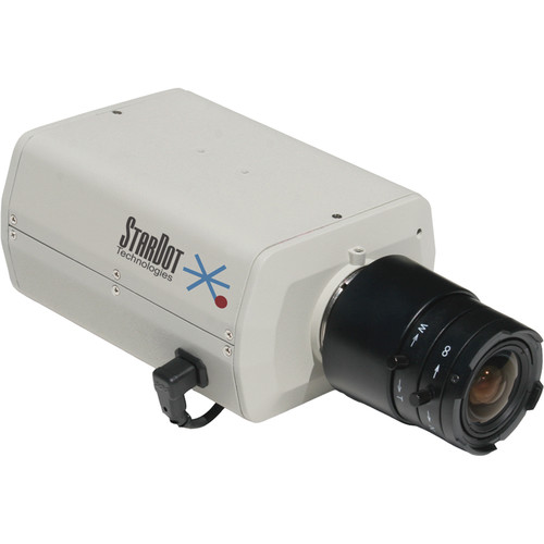 STARDOT NetCam SC Series SD300B 3MP MJPEG Hybrid Color IP Box Camera with 4mm Lens