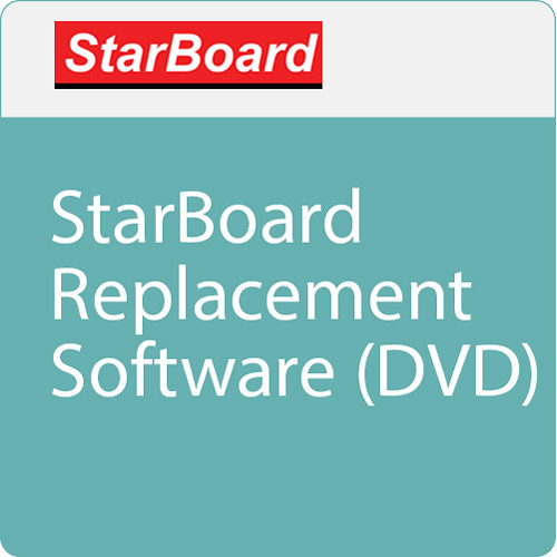 StarBoard Solution StarBoard Replacement Software Media (DVD)