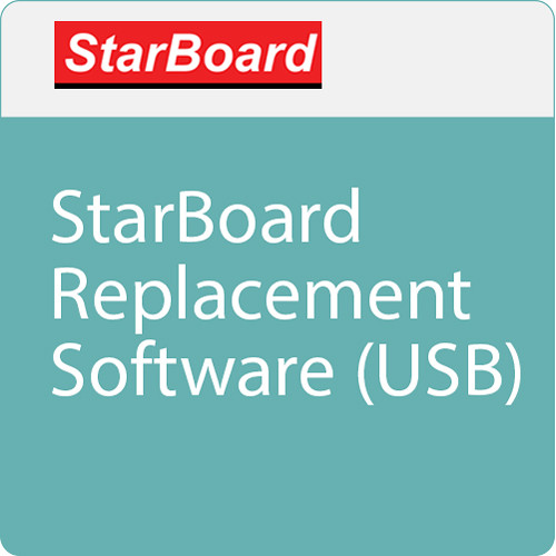 StarBoard Solution StarBoard Replacement Software Media (USB)